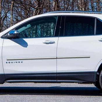 Chevrolet Equinox Chrome Body Side Moldings 2018 2019