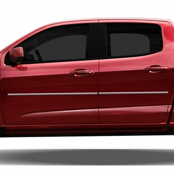 Chevrolet Colorado Chrome Body Side Moldings 2015 2016