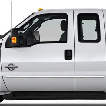 Ford Super Duty Chrome Body Side Moldings 2008 2009
