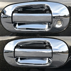 Lincoln Navigator Chrome Door Handle Outer Ring Cover 2015 2016 2017