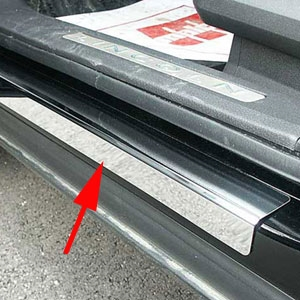 Lincoln Mkx Stainless Steel Door Sill Trim 2007 2008