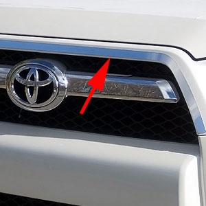 Chrome Door Handle Covers FITS 2010 2011 2012 2013 2014 2015 Toyota 4Runner