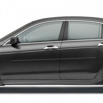 Honda Accord Coupe Body Side Moldings 2013 2014 2015