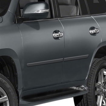 Lexus Gx460 Painted Body Side Moldings 2010 2011 2012