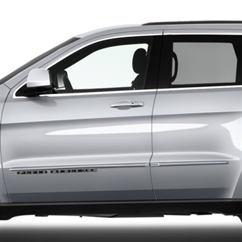 2016 Toyota Venza >> Jeep Grand Cherokee Painted Body Side Moldings, 2014, 2015 ...