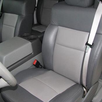 2004 2005 2006 Ford F150 FX4 Quad Cab Driver Side Bottom Cloth Seat Cover Black