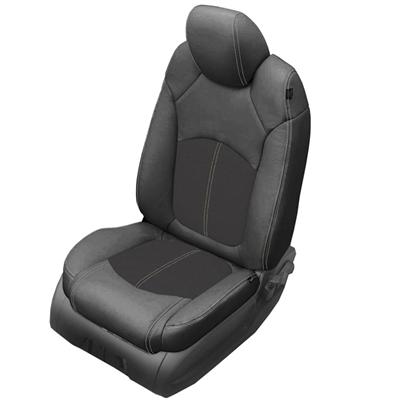 Passenger /& Rear Floor 2008 GGBAILEY D4573A-S2B-BK-LP Custom Fit Car Mats for 2007 2009 2010 Saturn Outlook Black Loop Driver
