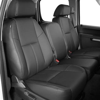 Chevrolet Suburban Katzkin Leather Seat Upholstery 3