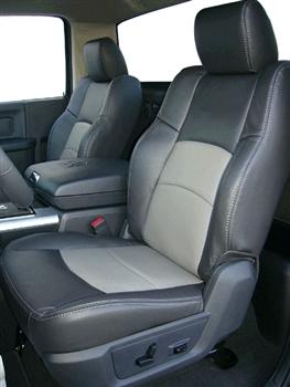 Dodge Ram 1500 Crew Cab Katzkin Leather Seat Upholstery 2018 2