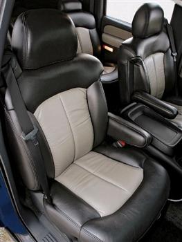 Chevrolet Silverado Regular Cab Katzkin Leather Seat ...