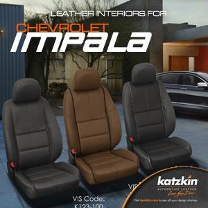 Chevrolet Impala Katzkin Leather Seat Upholstery Kit