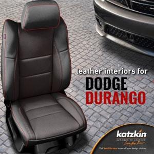 Dodge Durango Katzkin Leather Seat Upholstery Kit