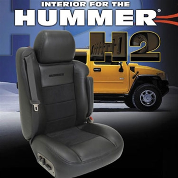 Hummer H2 Katzkin Leather Seat Upholstery Kit | ShopSAR.com