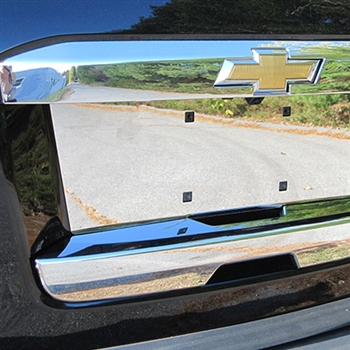 Chevrolet Suburban Chrome Tailgate Hatch Cover 2015 2016