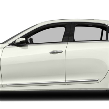 Cadillac Cts Chrome Door Mouldings 2008 2009 2010 2011