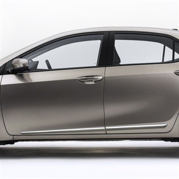 You ...  sc 1 st  ShopSAR.com & Toyota Corolla Chrome Lower Door Moldings 2014 2015 2016 2017 ...
