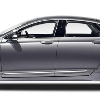 Lincoln Mkz Chrome Lower Door Moldings 2013 2014 2015 2016 2017