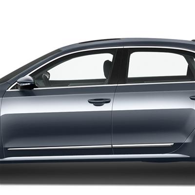 You ...  sc 1 st  ShopSAR.com & Volkswagen Passat Chrome Lower Door Accent Moldings 2012 2013 ...