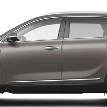 Kia Sorento Chrome Lower Door Moldings 2011 2012 2013