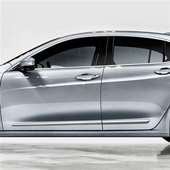 Acura Tlx Chrome Lower Door Moldings 2015 2016 2017