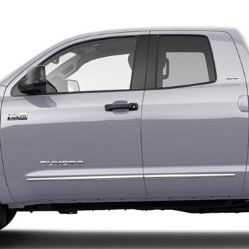 Toyota Tundra Double Cab Chrome Lower Door Moldings 2007 2008 2009 2010 2011 2012 2013