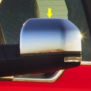 Ford F150 Chrome Top Half Mirror Covers 2015 2016 2017