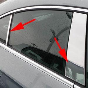 Volkswagen Cc Chrome Pillar Post Trim 2009 2010 2011