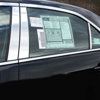 Lincoln Mkz Chrome Pillar Post Trim 2007 2008 2009