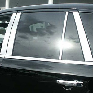Lincoln Mkx Chrome Pillar Post Trim 2007 2008 2009
