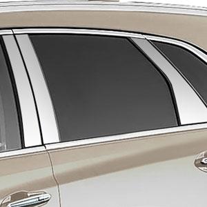 Cadillac XT5 Chrome Pillar Post Trim, 10pc. Set, 2017, 2018,2019 | ShopSAR.com