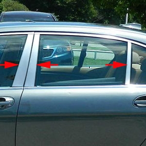 BMW 7 Series Chrome Pillar Post Trim 1995 1996 1997 1998