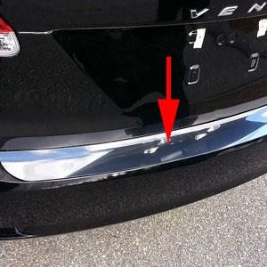 Toyota Venza Rear Bumper Trim 2009 2010 2011 2012