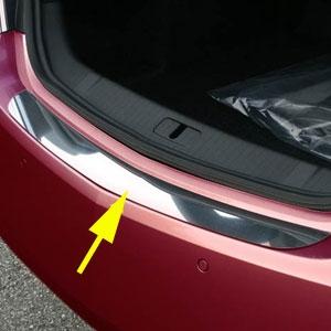 Buick Lacrosse Chrome Rear Bumper Trim 2010 2011 2012 2013