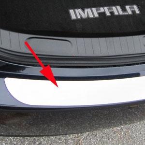 Chevrolet Impala Chrome Bumper Trim, 2014, 2015, 2016 ...