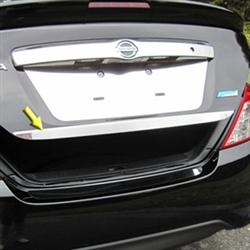 Nissan Versa Sedan Chrome Trunk Lid Trim 2012 2013 2014