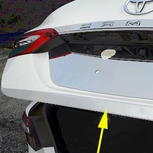 1 Piece Chrome Hood Trunk Molding Trim Kit For Toyota Models