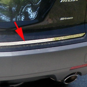 Acura Mdx Chrome Tailgate Trim 2007 2008 2009 2010