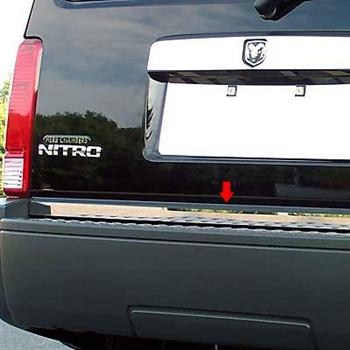 Chrome TRUNK TRIM Tailgate Molding Kit for mercedes models 2007-2011