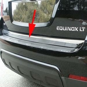 Chevrolet Equinox Chrome Rear Tailgate Trim 2010 2011