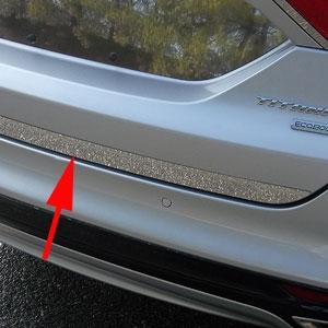 Ford Fusion Chrome Rear Deck Trunk Trim 2017 2016