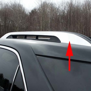 Roof Rack Lamborghini >> Chevrolet Equinox 'Factory Roof Rack' Chrome Trim, 2010, 2011, 2012, 2013, 2014, 2015, 2016 ...
