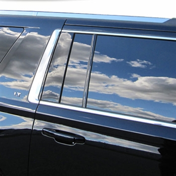 Chevrolet Suburban Chrome Roof Rack Trim, 2015, 2016, 2017 ...