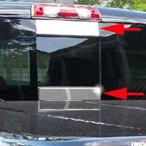 chevrolet silverado rear window accent trim      shopsarcom