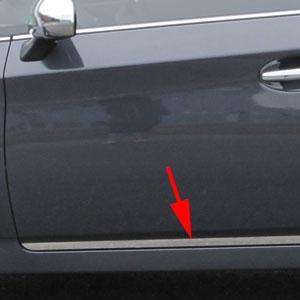 Toyota Prius Chrome Rocker Panel Trim Lower Door 2010