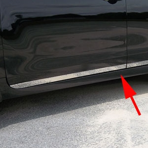 Nissan Altima Rocker Panel Trim Lower Door 2013 2014