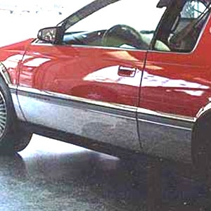 Cadillac Eldorado Chrome Rocker Panel Set 1995 1996