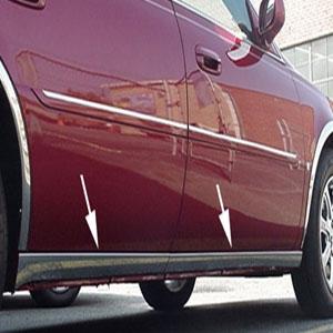 Cadillac Deville Dts Dhs Rocker Panel Trim Below Door