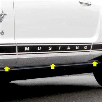 Ford Mustang Chrome Rocker Panel Trim 2005 2006 2007