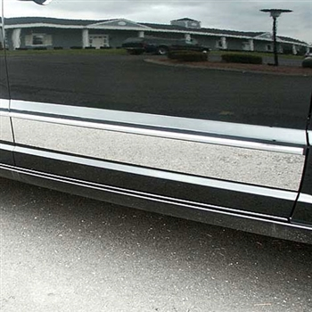 Dodge Caliber Upper Chrome Rocker Panel Set 4pc 2007