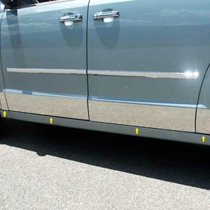 Dodge Grand Caravan Chrome Rocker Panels 2008 2009 2010